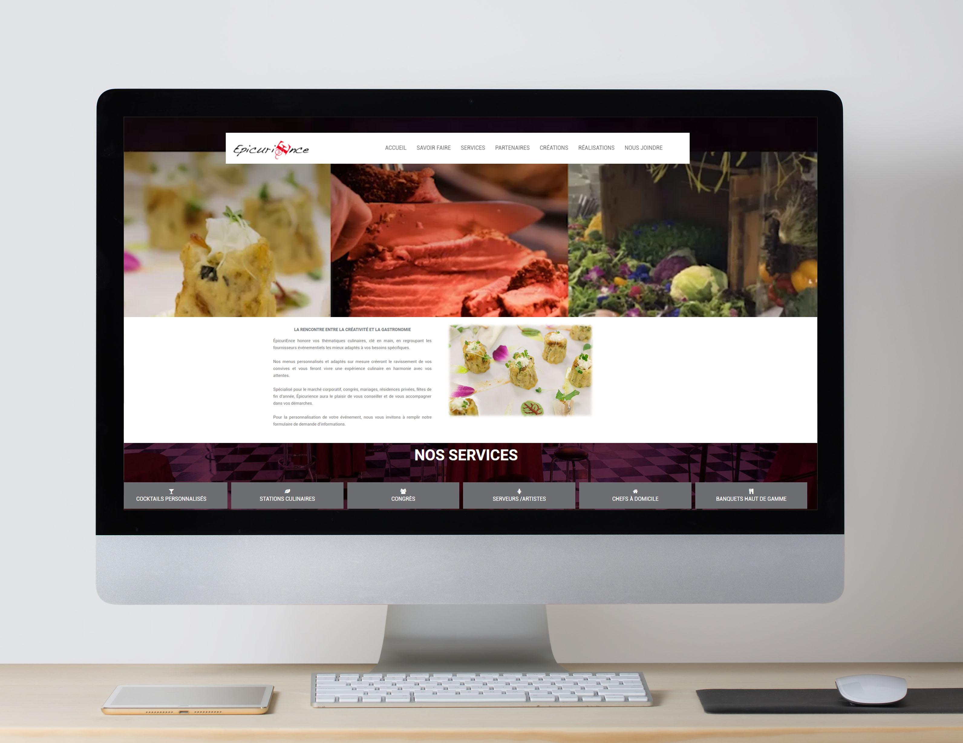 Epicurience Website